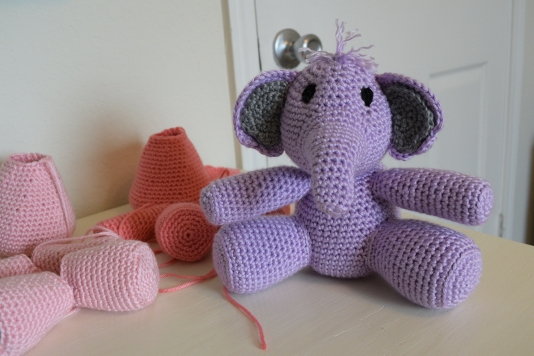 Completed elephant!